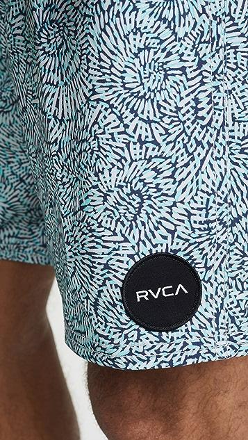 RVCA Va Printed Trunks