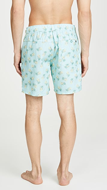 RVCA Program Elastic Shorts