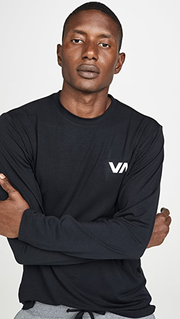 RVCA Va Sport Vent Long Sleeve Tee