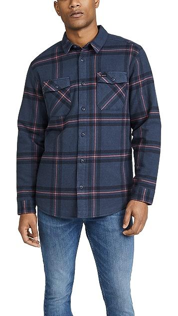 RVCA Yield Flannel Plaid Longsleeve Shirt