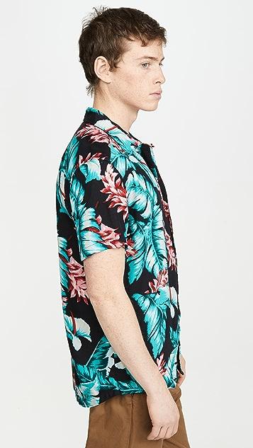 RVCA Benson Floral Short Sleeve Shirt