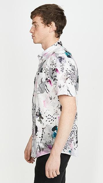 RVCA Delaney Short Sleeve Shirt