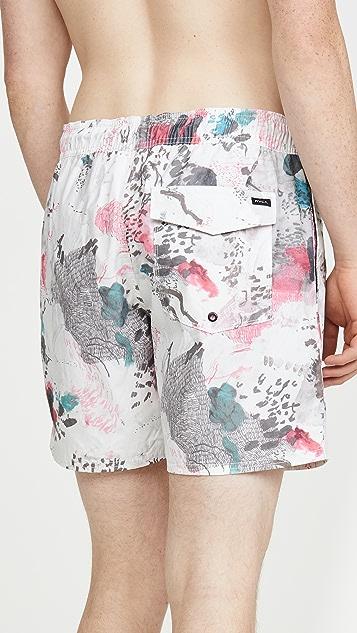 RVCA Cedar Elastic Shorts