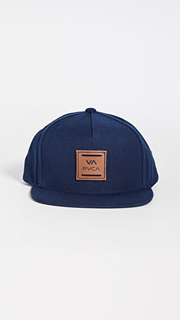 RVCA All The Way Snapback Hat