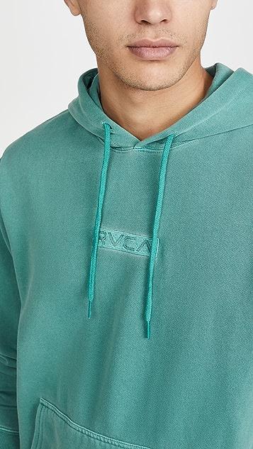 RVCA Long Sleeve Blocked Hoodie
