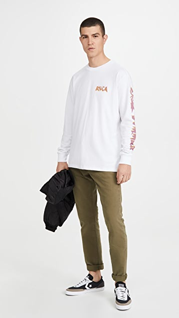 RVCA Long Sleeve Cruel Summer T-Shirt