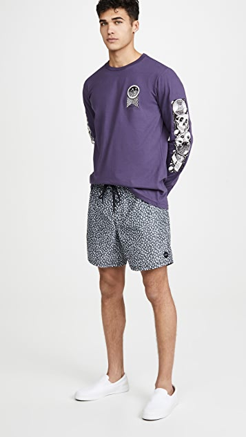 RVCA Long Sleeve Halicon T-Shirt