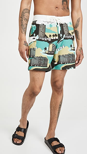 RVCA Splender Swim Trunks