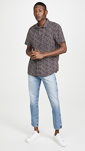 RVCA Short Sleeve Bellflowers Shirt