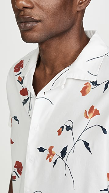 RVCA Short Sleeve Lazarus Floral Shirt