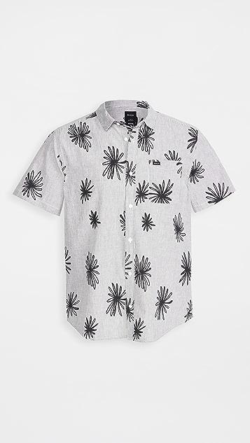 RVCA Short Sleeve Whirls Shirt