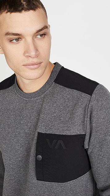 RVCA Hybrid Crew Sweatshirt