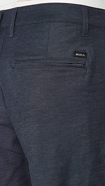 RVCA Back in Hybrid Shorts