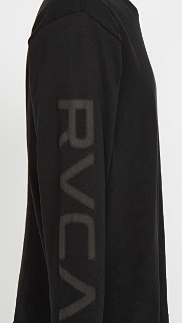 RVCA Long Sleeve Big Pixel T-Shirt