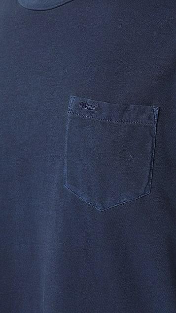 RVCA Short Sleeve PTC 2 Pigment T-Shirt