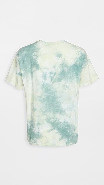 RVCA Short Sleeve Dayshift Tie Dye Tee Shirt