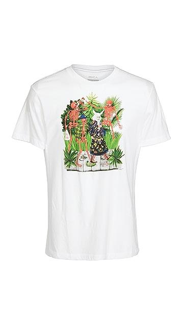 RVCA Short Sleeve Bone Boys T-Shirt