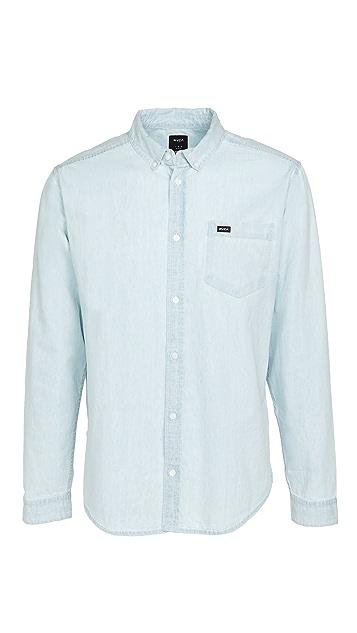 RVCA Long Sleeve Hastings Shirt