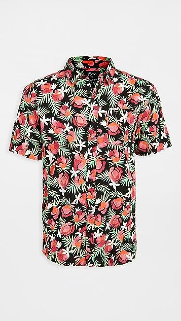 RVCA Short Sleeve Rozich Shirt
