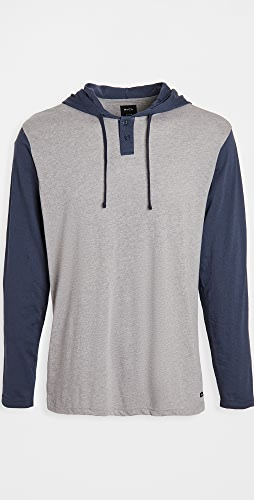 RVCA - Pick Up Hood Pullover