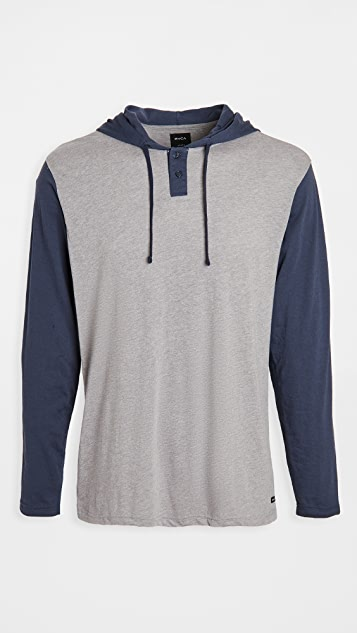 RVCA Pick Up Hood Pullover