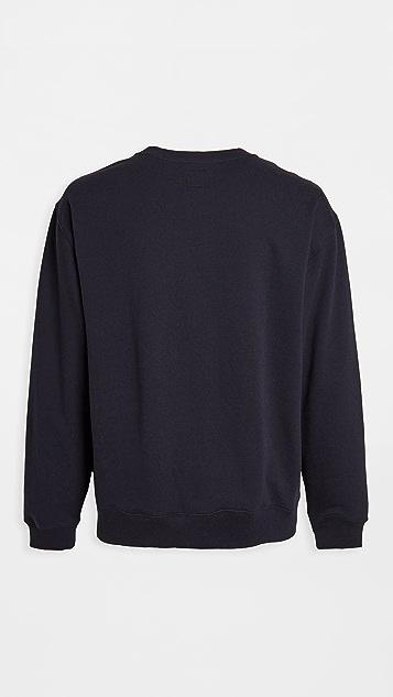 RVCA Day Shift Fleece Crew Sweatshirt