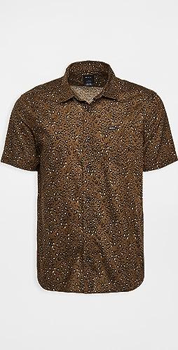 RVCA - No Fun Short Sleeve Shirt