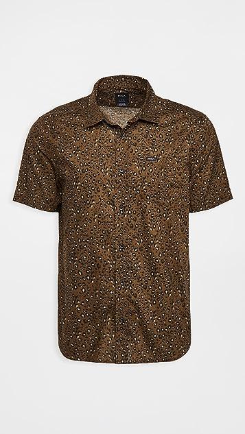 RVCA No Fun Short Sleeve Shirt