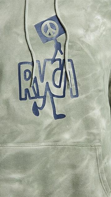 RVCA Nearby Tie Dye Hoodie