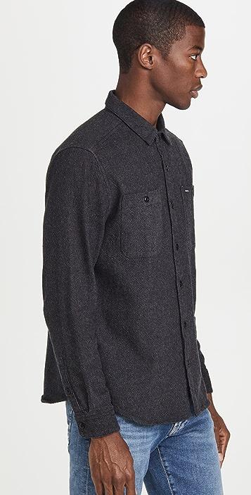 RVCA Long Sleeve Harvest Flannel