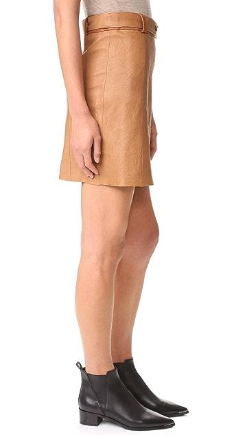 Ryder Jackson Leather Skirt