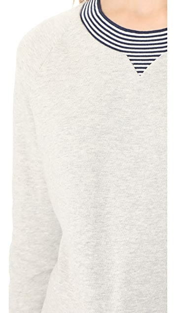 Ryder Jesse Striped Edge Sweatshirt