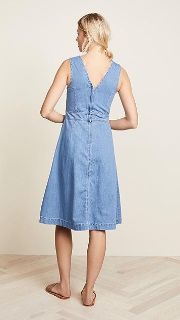 Ryder Aubrey Denim Midi Dress