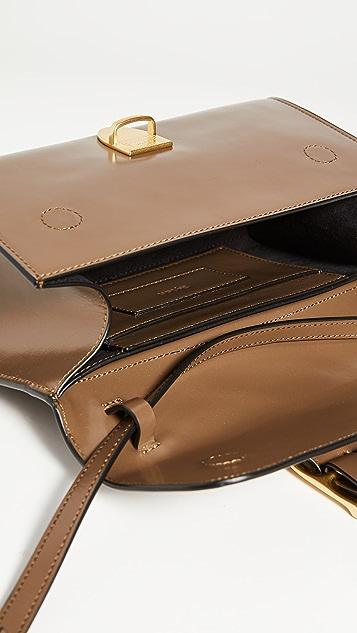 Rylan Khaki-Brown Small Bag