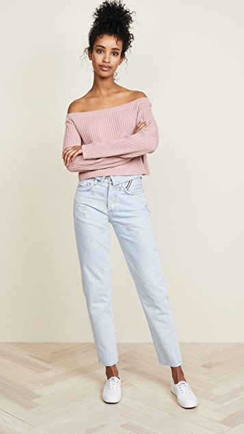 Sablyn Maja Off Shoulder Sweater