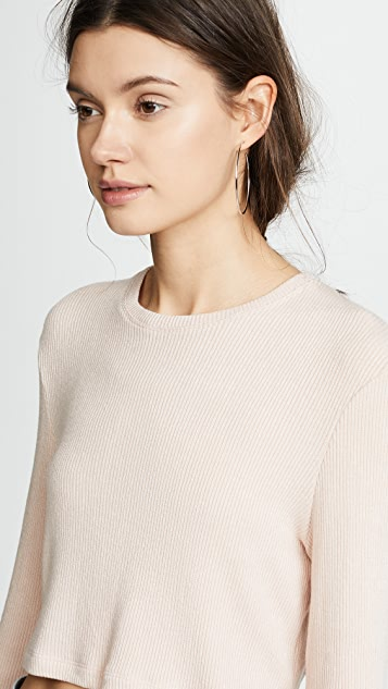 Sablyn Serafina Cotton Ribbed Top