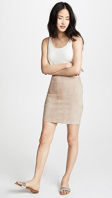 Sablyn Lisa Suede Skirt