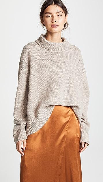 Sablyn Scarlett Chunky Cashmere Sweater