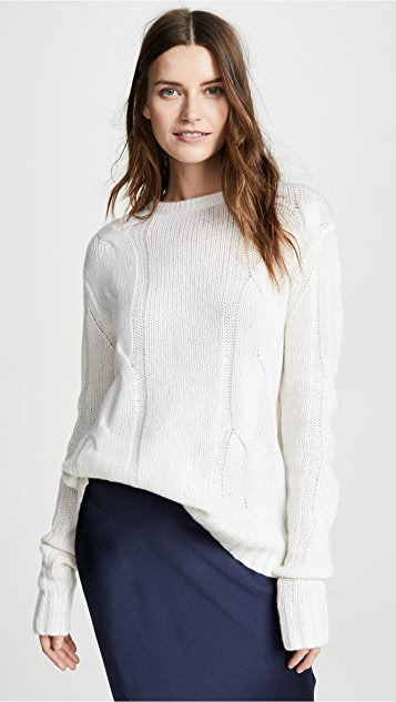 Sablyn Kate Cable Knit Sweater
