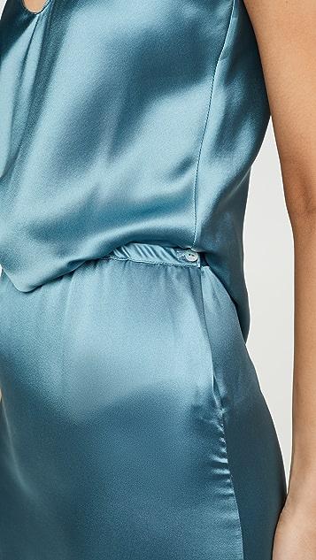 Sablyn Xander Lace Trim Skirt