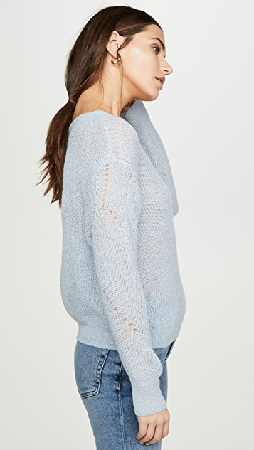 Sablyn Violet Sweater