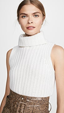 Saige Cashmere Turtleneck Sweater