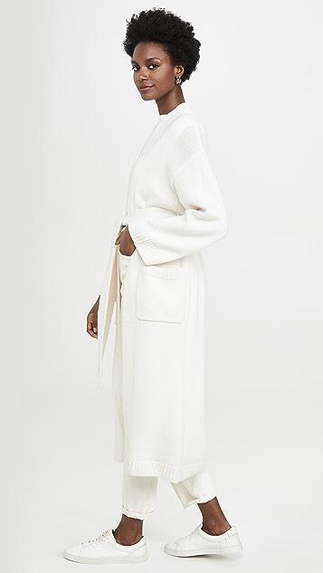 Sablyn Liberty 绑带羊绒开襟衫