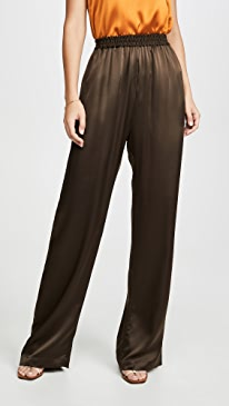 Penelope Silk Wide Leg Pants