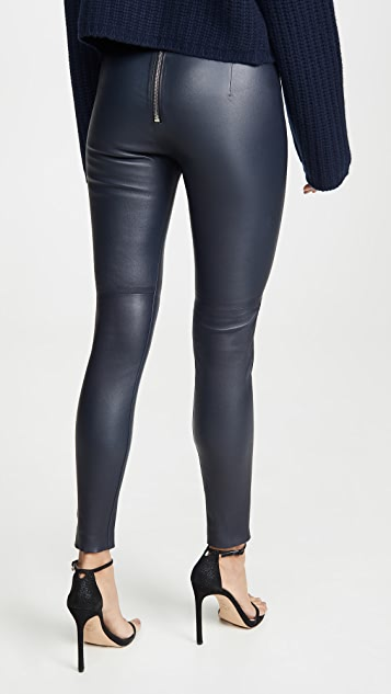 Sablyn High Waisted Leather Pants