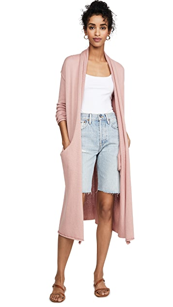 Sablyn Willa Cashmere Blend Long Cardi