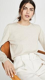 Sablyn Gabriela Cashmere Blend Crew Neck Sweater