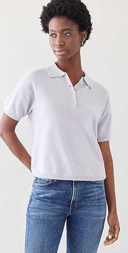 Sablyn - Cashmere Collared Shirt