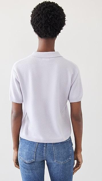 Sablyn 开司米羊绒衣领衬衫