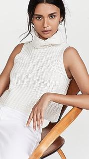 Sablyn Saige Sleeveless Cashmere Sweater